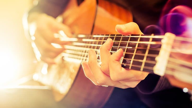 Bass lessons give students the opportunity to learn many important aspects of music such as rhythm, melody, harmony, and music theory concepts.